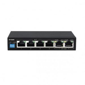 Switch D-LINK DES-F1006P