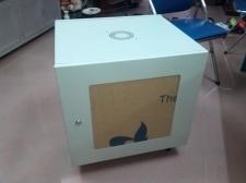 """Tủ mạng Tủ Rack (Rack Cabinet 19"""") 10U d500 Cửa MIC"""